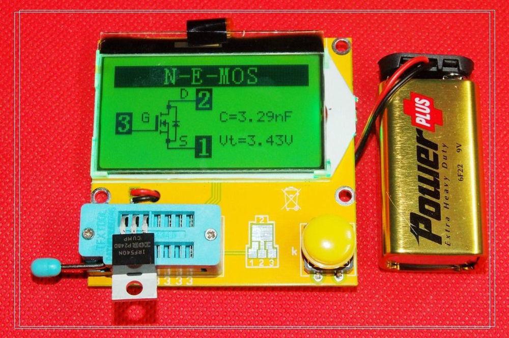 Elenco Diode Transistor Tester Kit - m