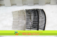 PPCrafts Fashion Wholesale 50pcs 20 Teeth Silvery White Hair Combs For Adult Free ShIpping