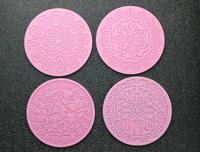2014 Hot New 4pcs Lace Silicone Mold Sugar Craft Cake Fondant Cake Decorating Bakeware