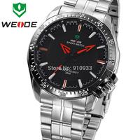 HOT! 2014 Fasion Stlye WEIDE Men's Top Sale Watch,Original JAPAN Quartz For Men WH1012,12-month Guarantee 30 Meters Waterproofed