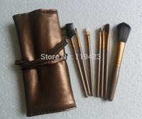 free shipping!selling New 7 Pcs Makeup Brush Set  (1pcs/lot)