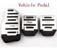 5pcs/ lot 9 (3x5) Car Non-Slip Anti-Slip Pedals Cover Set Vehicle Pedal  free drop shipping