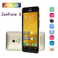 original mobile phones for Asus zenfone 5 Intel Atom z2580 Corning Gorilla 2G+16G Android 4.3 Dual SIm Card GPS WIFI SmartPhones