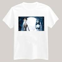 Corpse Bride Printed Tshirt For Women Men Short Sleeve Unisex Cotton Casual White Shirt Top Tee XXXL Big Size ZY053-05