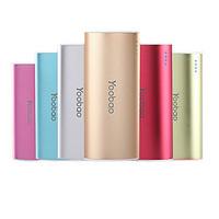 Yoobao 5200mAh Power Bank External Battery for iPhone / smartphones