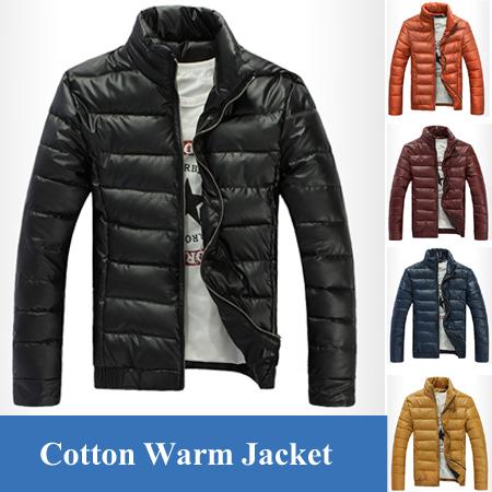 Winter Man Casual Cotton PU Leather Jacket Outdoors Men Coat Military Jackets,Jaqueta Masculina Casaco Masculino Warm Clothing(China (Mainland))