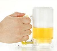 1Piece Beer Foamer Mug,Sparkling Beer Mug / Foam-Generating Beer Mug,Creative Beer Glass,Free Shipping