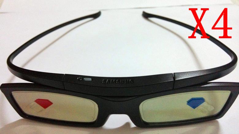 4X New óculos 3D SSG-5100GB para Samsung LED Plasma Smart TV(China (Mainland))