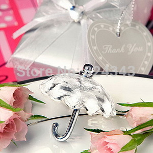 NEW ARRIVAL+Choice Crystal Collection Umbrella Favors Wedding Party Gift Event Shower Favors+100pcs/lot+FREE SHIPPING(China (Mainland))