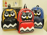 2014 Winter New Stylish Waterproof Nylon Backpack OWL Backpacks Print Fashion Trend Big School Bag Cartoon 5 color High Quality