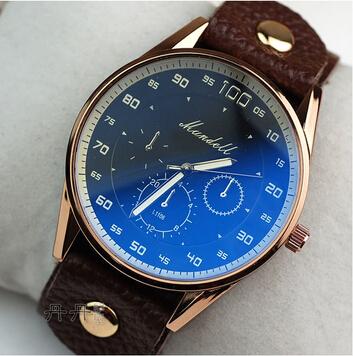 Drop shipping new 2014 brand classic fashion women's calibration male watch female fashion table Women strap quartz watch(China (Mainland))
