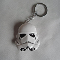 Marvel Comics Star Wars Soldier Mask Charm Keychain & Keys Ring Collection Halloween Gift