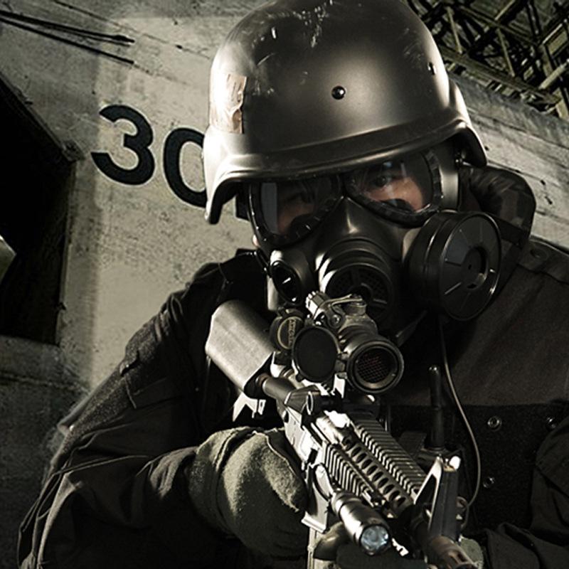M04 Fan Air Conditioning Skull Biochemical Gas Mask Paintball Airsoft Mask Army Military Equipment Macka Respirator Mascara(China (Mainland))