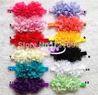 New Arrival Girls Elastic Headband Toldder Baby Headband Mix Color 40pcs/Lot