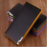 2014 new men's wallet card package Guangzhou wholesale men's wallet phone package slim