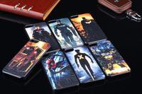Changing Hero - Superman Batman Spider-Man Captain America Iron Man X-Men Hard Plastic Case / Back Cover For Apple iPhone 5G 5S