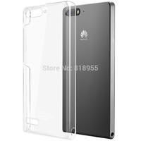10PCS/LOT,Genuine Brand IMAK Crystal series PC Ultra-thin Hard Skin Case Cover Back For HUAWEI P7 Mini