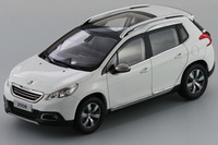 Alloy 1:18 Limited edition PEUGEOT 2008 SUV car models