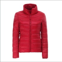 2014 new skimpy dresses collar hooded short size down jacket coat wholesale factory outlets