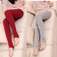 Hot 2014 South Korea fashion brand spring women 100% all cotton Elastic trample feet pants Ladies' modal leggings Free shipping