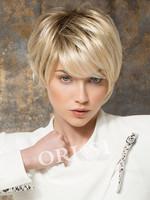 Hair Wigs Kanekalon Synthetic Wigs Short  Blonde Bobo Wigs for Women Cosplay Wigs  PerucasBEC-896