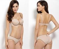 new 2014 VS supernova sale cotton Seamless memory foam comfort gather sexy underwear bra sets push up set Free Shipping