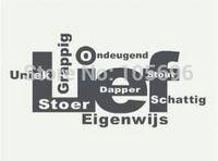55*115cm FASHION Home sticker Wall decor Art Vinyl Murals Decals applique zz352 Lief Eijenwijs