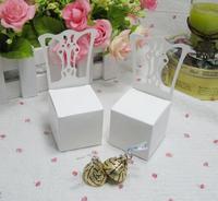 White Chair wedding box, Gift box, Packing box 100pcs/lot Free shipping