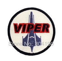 Battlestar Galactica Viper Pilot Officer Uniform Movie Embroidered LOGO Iron On Patch/badge Customized patch available