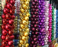 Christmasball Columnar column Pendant ktv bar decoration supplies