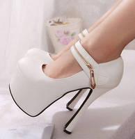 Ultra high heels 16cm2014 women's shoes princess high-heeled shoes thick heel platform shoes