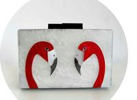 hot selling Women Acrylic chain bag goose head hard case brand bag mini cross body  shoulder clutch evening bag bolsa