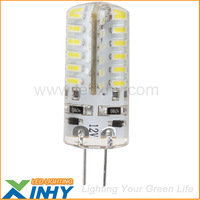 Free Shipping 12V G4 LED For Indoor Lighting 48 3014 SMD Light Bulb Capsules 20W halogen g4 lamp Replacement
