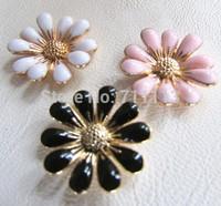 18mm Fashion Alloy drop buckle Children Hair Accessories Baby Ornaments Diy hair button flower hair clip 15pcs/lot Free shipping