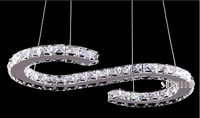 Hot selling  Modern LED crystal chandelier,Dining room pendant lamp, Contemporary lighting fixture