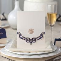 Free Ship 50pcs/Lot Event Party Supplies  Elegant  Birthday Wedding Invitations Christmas Decorations    Christmas Invitation