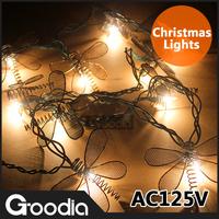Christmas Decoration Strip Lights 125V Wedding Iron Butterfly Light Garden Indoor Outdoor Decoration Light Strip