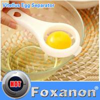 Food-grade plastic material Kitchen Egg White Separator Holder Sieve Funny Divider Breakfast Tool Spoon Smart Design