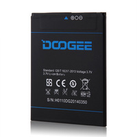 New Original 5inch Doogee DG2014 Mobile Phone Battery  FREE SHIPPING