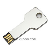 Promotional Products Lot 50 Bulk USB Flash Drive Key Shape PenDrive USB Key  custom gifts Free Logo Silver