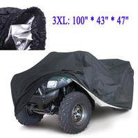 Universal Quad Bike Anti-UV ATV Cover Parts Motorcycle Vehicle Waterproof Car Covers Dustproof Resistant Dustproof Size 3XL