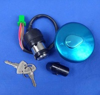 NEW FREE SHIPPING OEM QUALITY Suzuki Motorcycle GN125 MAIN SWITCH KIT IGNITION SWITCH FUEL TANK CAP 2 KEYS