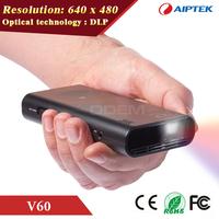 AIPTEK Pocket Cinema DLP LED Mobile Pico Digital Projector 1080P HD HDMI for Smart phone PC NB Tablet Entertainment Presentation