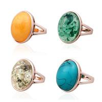 2014 New Popular Women Burma Amber Setting Ring Noble & Elegant Free Shipping R-11009