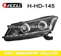 ATLI  2014 Hot Wholesale 12V Auto Led Head Lamp Angle Eyes Fasion Design for Hon-da A-ccord 2008-2011