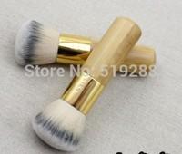 Brand Wholesale Good Professional Foundation Powder Makeup Brush Wood  BB Cream Brush Cosmetic Makeu-up  Brushes Tool +Track NO.