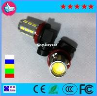 Free shipping H11-18SMD+1 COB-14W super bright LED lights fog lamps car led light