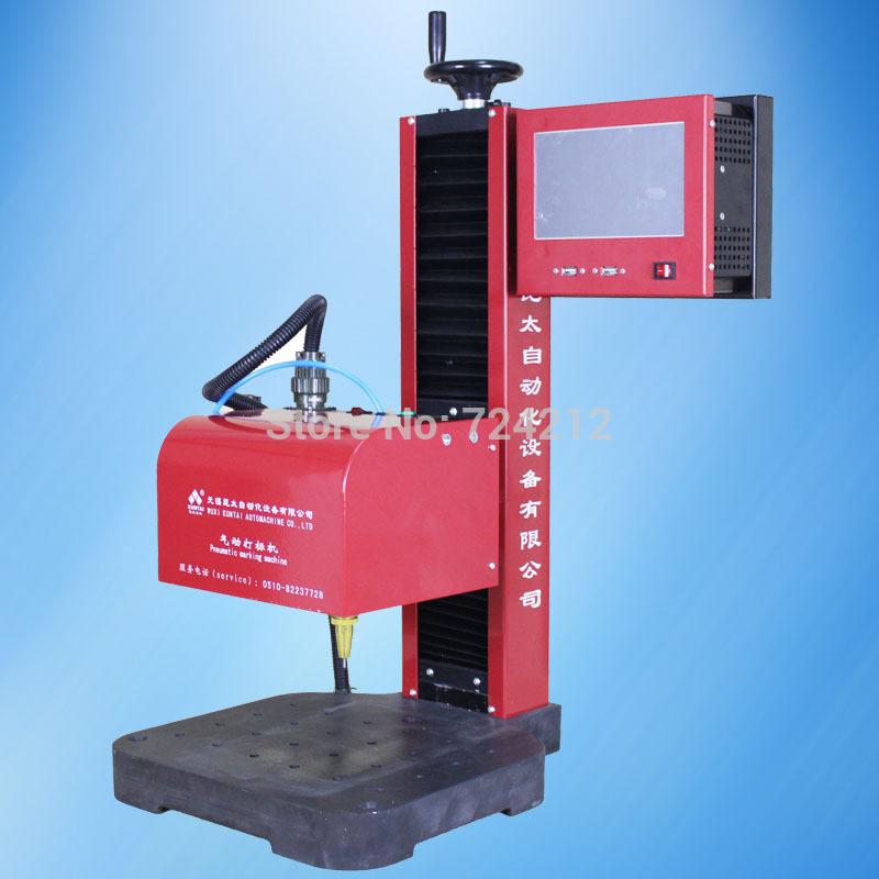 bench cnc dot pin marking machine,desktop cnc pneumatic dot peen marking devide on sale(China (Mainland))