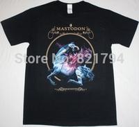 MASTODON REMISSION NEW BLACK T-SHIRT 100% Cotton Short sleeve O-neck 16 Colors Customized Logo Free Shipping
