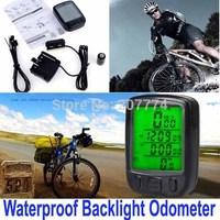 27 Functions Waterproof Digital Backlight Bicycle Computer Odometer Bike Speedometer Clock Stopwatch Bike Computer Free Shipping